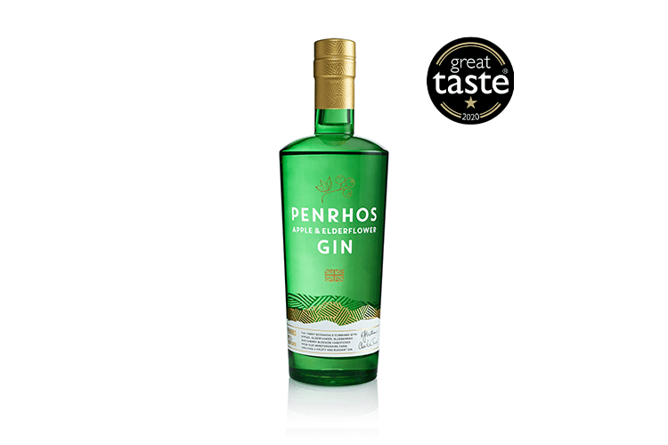 Penrhos Apple and Elderflower Gin