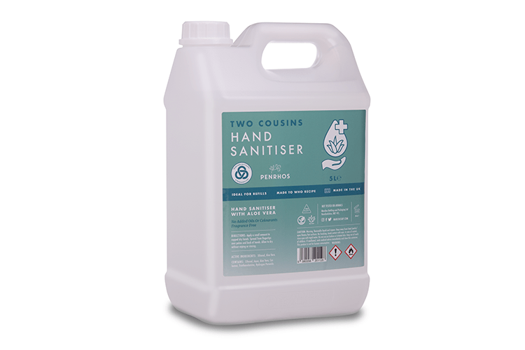 Two Cousins 5L Hand Sanitiser