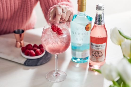 London Dry with aromatic tonic